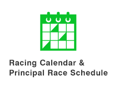 Racing Calendar & Principal Race Schedule